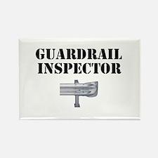 Guardrail Inspector Rectangle Magnet