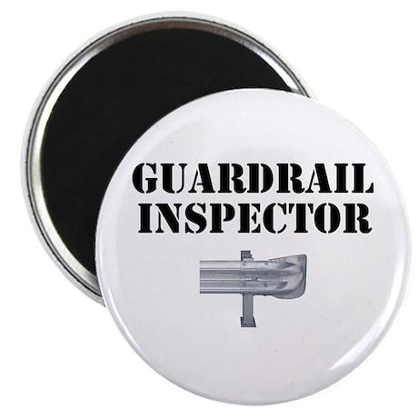 "Guardrail Inspector 2.25"" Magnet (100 pack)"