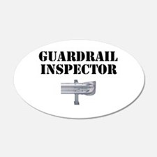 Guardrail Inspector Wall Decal