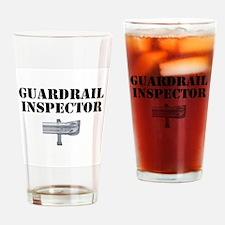 Guardrail Inspector Drinking Glass