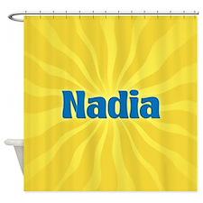 Nadia Sunburst Shower Curtain