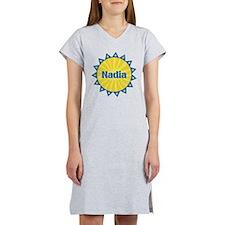 Nadia Sunburst Women's Nightshirt