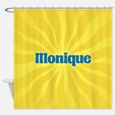 Monique Sunburst Shower Curtain
