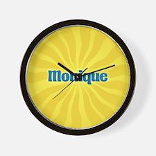 Monique Sunburst Wall Clock