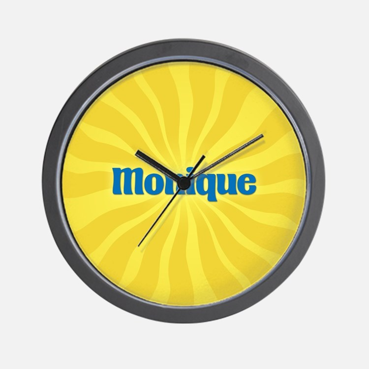 Monique Sunburst Wall Clock