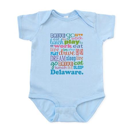 live dream Delaware Infant Bodysuit