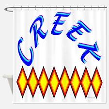 CREEK TRIBE Shower Curtain