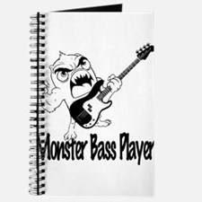 monster bass player Journal