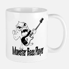 monster bass player Mug