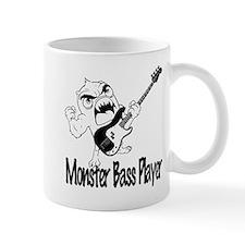 monster bass player Mug