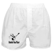 monster bass player Boxer Shorts