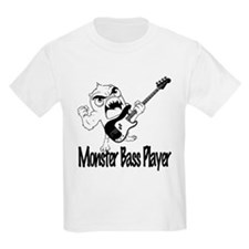 monster bass player T-Shirt