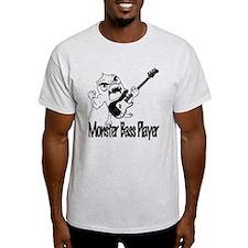 monster bass player T-Shirt