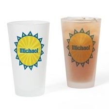 Michael Sunburst Drinking Glass