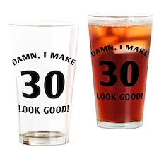 Cute 30 year old birthday Drinking Glass