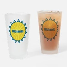 Melanie Sunburst Drinking Glass