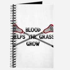 Lacrosse blood helps the grass grow Journal