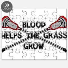 Lacrosse blood helps the grass grow Puzzle