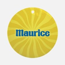 Maurice Sunburst Ornament (Round)