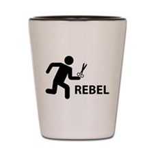 REBEL Shot Glass