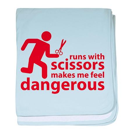 Runs with scissors makes me feel dangerous baby bl