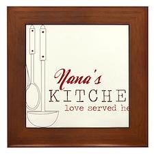 Nana's Kitchen Framed Tile