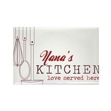 Nana's Kitchen Rectangle Magnet