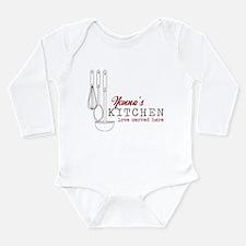 Nonna's Kitchen Long Sleeve Infant Bodysuit