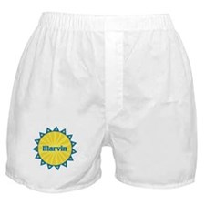 Marvin Sunburst Boxer Shorts