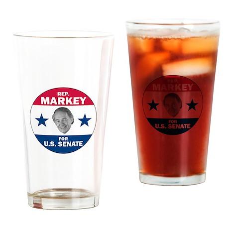 Edward Markey for Senate Drinking Glass