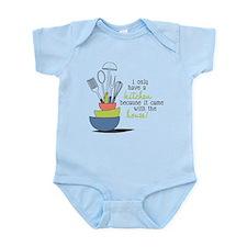 A Kitchen Infant Bodysuit