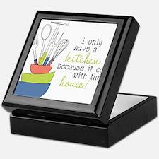 A Kitchen Keepsake Box