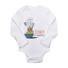 Chef in Training Long Sleeve Infant Bodysuit