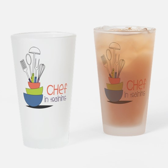 Chef in Training Drinking Glass
