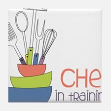 Chef in Training Tile Coaster