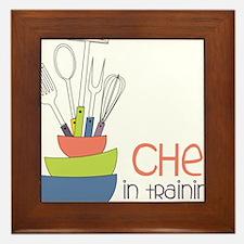 Chef in Training Framed Tile