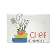 Chef in Training Rectangle Magnet