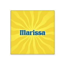 """Marissa Sunburst Square Sticker 3"""" x 3"""""""