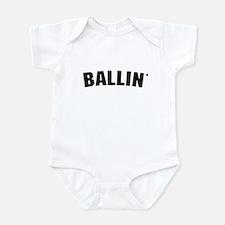 Ballin' Infant Bodysuit