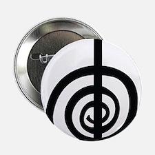 """ChoKu Rei Reiki 2.25"""" Button"""