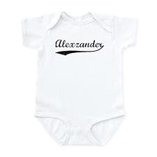 Vintage: Alexzander Infant Bodysuit