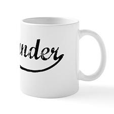 Vintage: Alexzander Mug