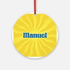Manuel Sunburst Ornament (Round)