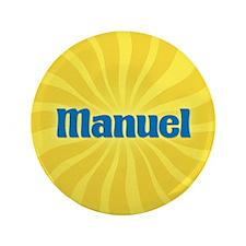 """Manuel Sunburst 3.5"""" Button"""
