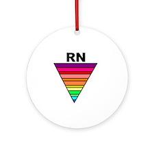RN Rainbow Ornament (Round)
