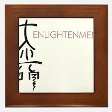 Enlightment Framed Tile