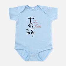 The Heart Of Reiki Infant Bodysuit