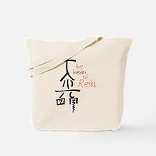 The Heart Of Reiki Tote Bag