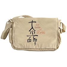 The Heart Of Reiki Messenger Bag