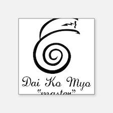 "Dai Ko Myo Master Square Sticker 3"" x 3"""